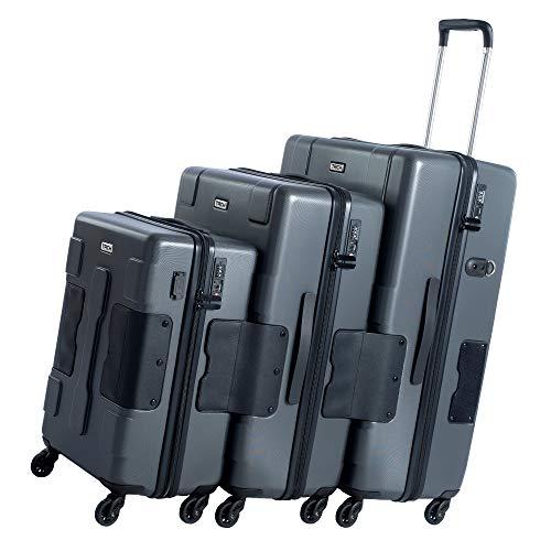 TACH V3 3-Piece Hardcase Connectable Luggage & Carryon Travel Bag Set
