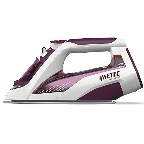 Imetec ZeroCalc Z3 3900 - Plancha de vapor, tecnología antical, tecnología Intellivapor, plancha de cerámica, 2400 W, golpe de vapor 170 g