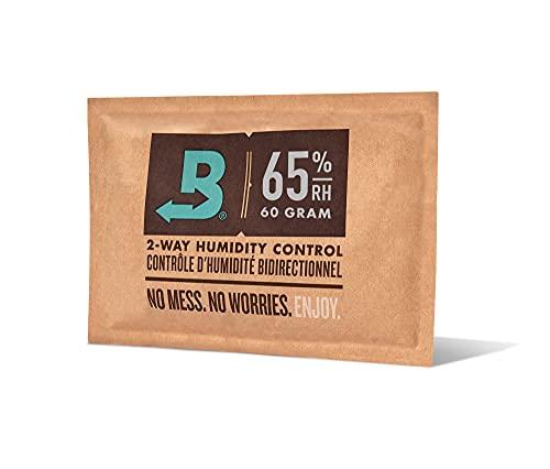 Boveda 葉巻/タバコ用 65-RH 2-湿度 コントロール サイズ 60 使用 25 葉巻 ヒュミドール ホールド 特許取得済み 技術 シガー ヒュミドール 1-カウント