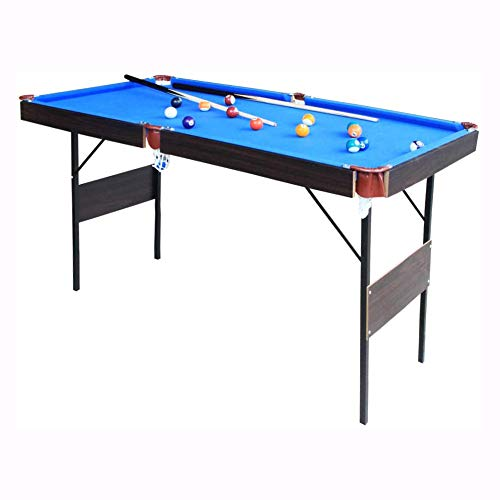 vocheer Folding Billiard Table, 55' Pool Table Space Saving Mini Pool Table for Kids Teenagers and Adults, Quick Assembly