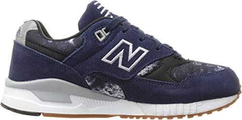 New Balance Damen 530 Sneakers, Blau (Navy), 36.5 EU