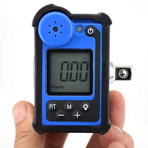 CARACHOME 6.8-340NM, Llave de Torque Digital 3/8 1 / 2DR, Adaptador de Torque electrónico Profesional Ajustable,Rm3 135an