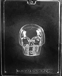 Cutdek Medium 3D Skull Mold Chocolate Candy Plaster Day of The Dead Sugar Skulls