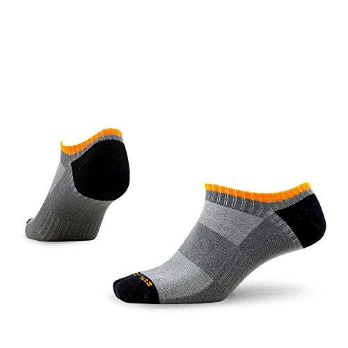 FC Socken Industrie - Yoga-Socken für Herren in Dunkelgrau, Größe M