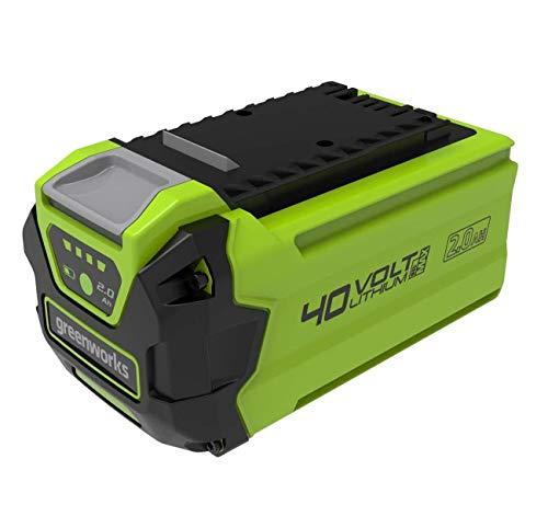 Greenworks Tools Batteria G40B25 di 2a Generazione (Batteria Ricaricabile agli Ioni di Litio 40 V 2,5 Ah Potente e Ricaricabile Adatta a Tutti i Dispositivi della Derie Tools 40 V)