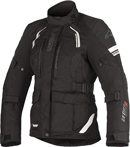 Alpinestars Chaqueta moto Stella Andes V2 Drystar Jacket Black, Negro, L