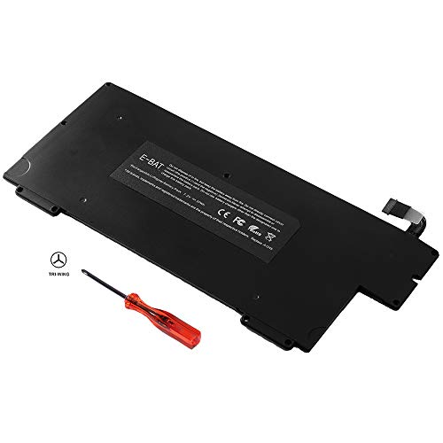 E-BAT New A1245 Laptop Battery Compatible for MacBook Air 13 inch A1245 A1237 A1304 [Early/Late 2008 Mid 2009 Version] MB003 MC233 MC234 MC503 MC504-12[7.2V 37Wh]