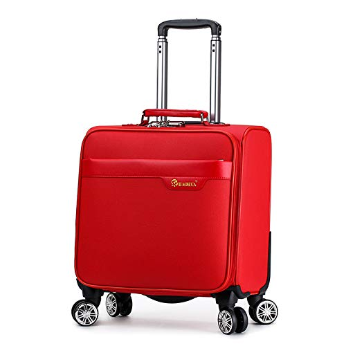 SONGXZ Koffer Neue PU Business Boarding Mini Student Koffer 18 Zoll Caster Trolley Fall