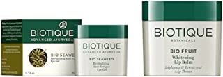 Biotique Set Of Lip Balm & Eye Gel