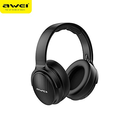Awei A780BL BT 5.0 Headphone Wireless&Wired Stereo Headset with Microphone Deep Bass Gaming Computer Headset IPX5 Waterproof Support TF Card Compatible with iOS Android Mobile Phones Computers