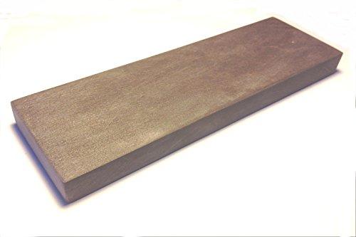 Belgischer Brocken piedra afiladora azul 200x50 mm. Piedra de afilar finamente para cuchillas, instrumentos quirúrgicos, maquinillas de afeitar