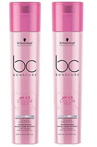 Schwarzkopf BC Bonacure Color Freeze Silver Shampoo SET 2 x 250 ml