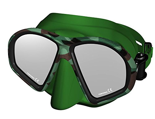 Typhoon Force Free Diving Mask - Camo