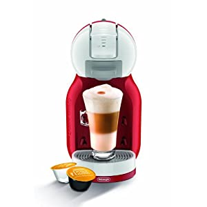 Nescafé Dolce Gusto by De'Longhi Mini Me EDG305WR Pod Coffee Machine – Red & White