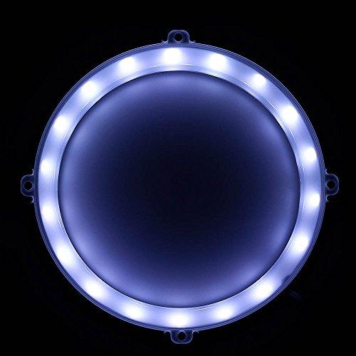 Blinngo Cornhole LED Lights, Ultra Bright Standard Cornhole Night Light for Family Backyard Bean Bag Toss Cornhole Game, Four Color Options, Long-Lasting Over 72 Hours, 2 Set (Cold White)