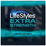 Lifestyles Extra Strength with Silver Lunamax Pocket Case, Strong Lubricated Latex Condoms-24 Count