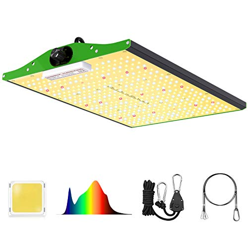 LED Grow Light, VIPARSPECTRA P1500 LED Grow Light for Indoor Plants 3x3ft Coverage, Dimmable Full Spectrum Plant Grow Lights for Indoor Plants Seeding Veg and Bloom Hydroponic Growing Lamps