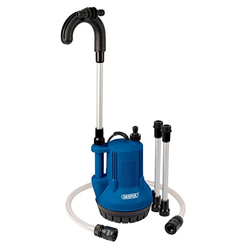 Draper 36327 Submersible Water Butt Pump with Float Switch, 40L, 350W, 230V