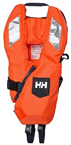 Helly Hansen Kid Safe+ Chaleco Salvavidas, Unisex-Baby, Naranja Flúor, 10/25