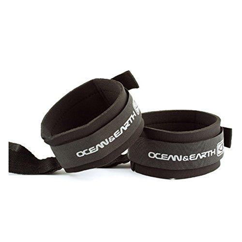 Ocean and Earth Fin Saver - Accesorio para surf (talla única), color negro