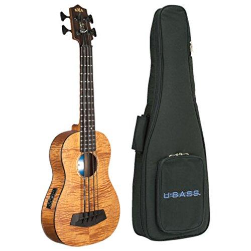 Kala UBASS-EM-FS Exotic Mahogany U-Bass Fretted