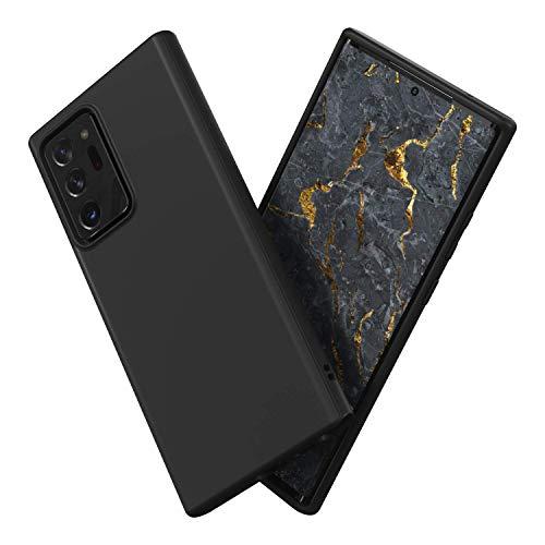 Preisvergleich Produktbild RhinoShield Case kompatibel mit [Samsung Galaxy Note 20 Ultra] / SolidSuit - Schockabsorbierende Dünne Schutzhülle mit Premium Finish 3.5 Meter Fallschutz - Klassik Schwarz