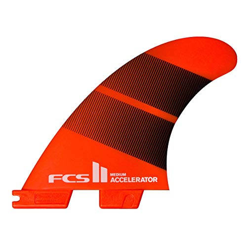 FCS II Accelerator Neo Glass Thruster Fin Set Tang Gradient Large