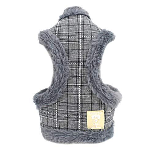 Amphia - Brustgurt für die Hundeleine - Haustier Katze Hundewelpe Katze Cord Mesh Weste Leine Brustgurte Gürtel einstellbar(F,M)