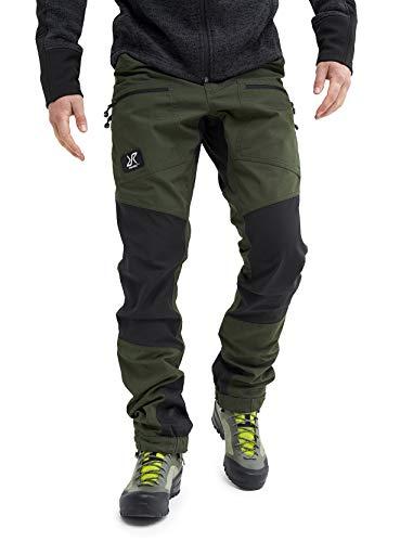 RevolutionRace Nordwand Pro - Pantalones de senderismo para hombre Forest.Green. XXL