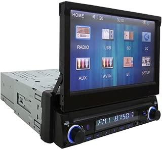 /Syst/ème Audio Bluetooth DJ Sound System 80/Watt Double Deck avec Effets Delay//Scratch//Pitch Majestic AH 245/DJ BT MP3/USB AX/ Noir entr/ées USB//Aux-in//Microphone//Guitare