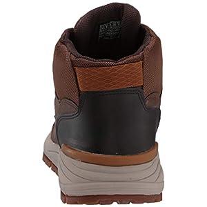 Skechers Volero - Merix Dark Brown CDB Mens Ankle Boot Size 12M