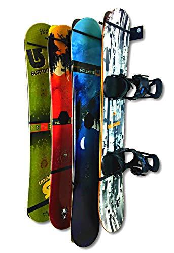 StoreYourBoard Heavy Duty 8 Snowboardhalter, The Snow Tank, Steel Home und Garage Snowboardhalterung