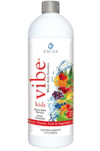 Eniva Kids Vibe Childrens Liquid Full Spectrum Daily Multi Minerals Vitamins (32 oz)