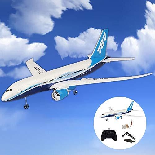 0Miaxudh DIY Aereo Giocattolo, DIY EPP Telecomando Aereo RC Drone Boeing 787 Fixed Wing Aereo Kit Giocattolo