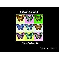 Butterflies Vol. 1 Tattoo Flash and Art (English Edition)