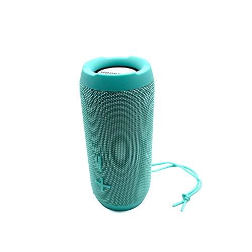 Altavoz portátil Bluetooth, rango de Bluetooth 0M, tiempo de juego de 4 horas.Altavoz inalámbrico portátil perfecto para el hogar, al aire libre, viajar mei (Color : Green)