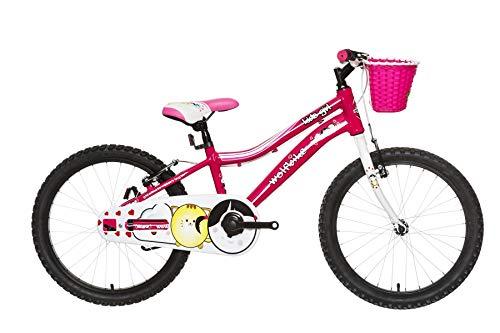 Wolfbike AVI-20 NIÑA Fucsia T10 Bicicleta, Adultos Unisex,