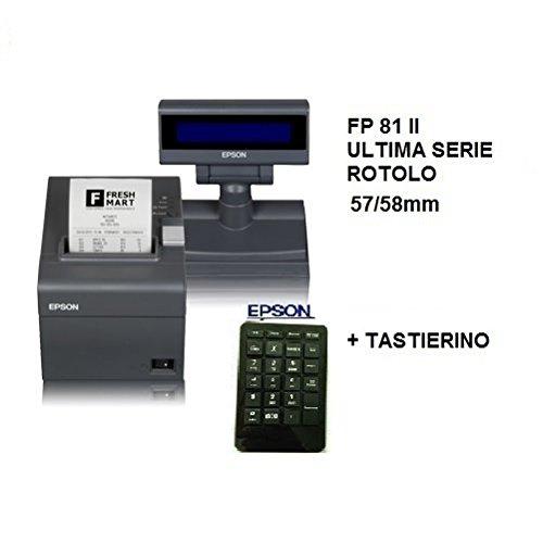 EPSON STAMPANTE FISCAL FP 81 II 58mm DISPLAY en TASTIERINO