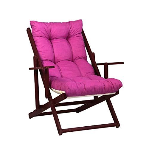 TecnoWeb Coussin de rechange pour fauteuil de détente, rembourré, couleur cyclamen