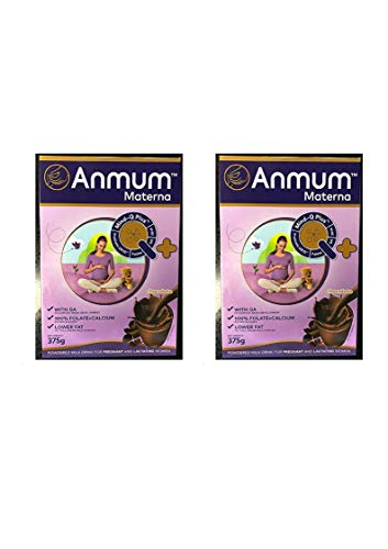 Anmum Materna Powdered Chocolate Milk Drink for Pregnant Women (2 Pack)