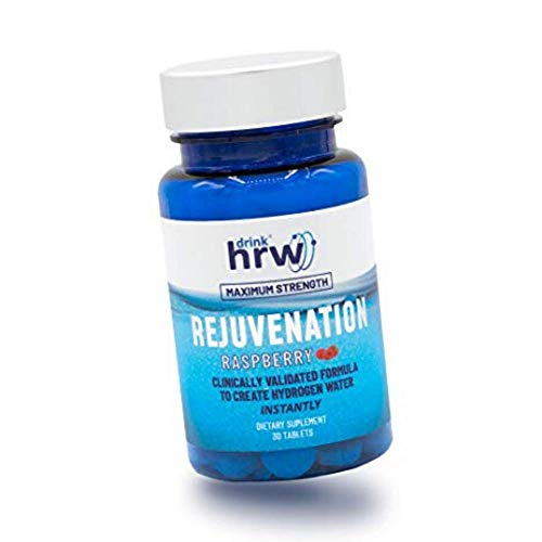 Rejuvenation Blue Raspberry effervescent H2 Magnesium Tablets: Hydrogen Water (1)