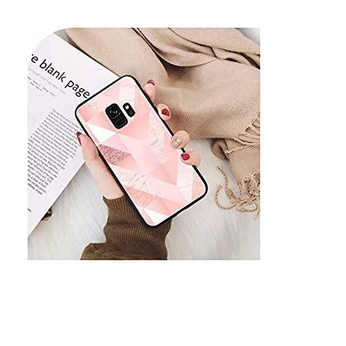 Funda de teléfono con patrón de mármol para Samsung Galaxy A50, A30, A71, A40, S10E, A60, A50s, A30s, Note 8, 9, S10 Plus, S10, S20, S8-a9, SamsungA51