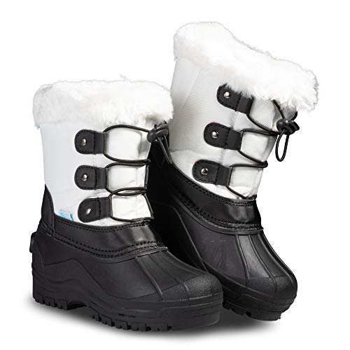 Kid Girl White Boots