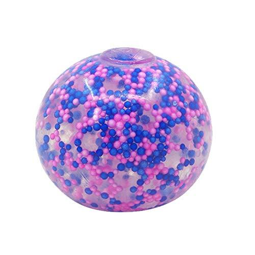Funyplus 1/2/3 PC Stressabbau Bälle Übung Handball DNA Farbball 10 ml, Zappelspielzeug für Erwachsene Kinder, Stressabbau Spielzeug für ADHS & Autismus