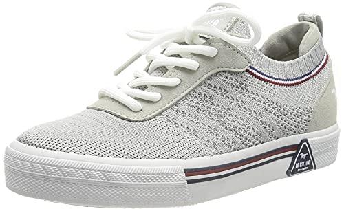 MUSTANG Damen 1381-301 Sneaker, hellgrau, EU