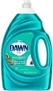 Dawn Ultra Escapes Dishwashing Liquid, New Zealand Springs, 56 Ounce