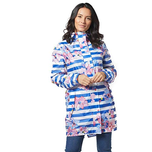 Joules Golightly Blue Stripe Floral 12
