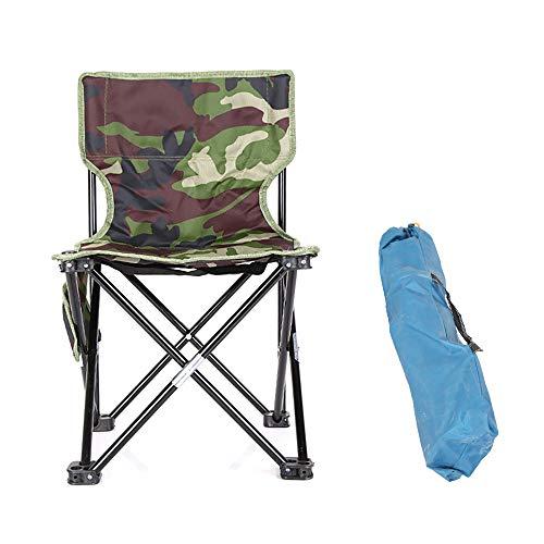 XIAOHE Chaise De Camping Pliante Portative, Chaise Ultra-LéGèRe Et Compacte, Capacité De 300 LB avec éTui De Transport, Barbecue en Plein Air, PêChe en Plein Air dans Un Pique-Nique,M