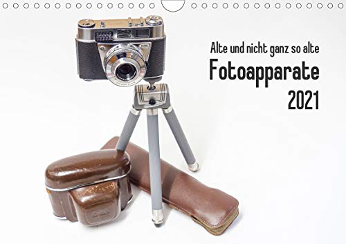 Alte und nicht ganz so alte Fotoapparate (Wandkalender 2021 DIN A4 quer)