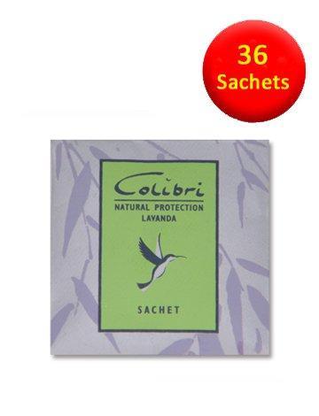 36 Mini-Sachets Anti-mites Parfum lavande naturelle-Lavande-mites naturels répulsifs à utiliser dans les armoires, les tiroirs, les sacs de rangement
